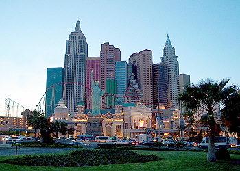 """Hotel """"NewYork NewYork"""" v Las Vegas."""