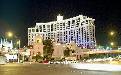 Hotel Bellagio v Las Vegas.
